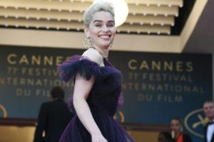 250 часов работы: как создавалось платье Эмилии Кларк для премьеры «Хана Соло»