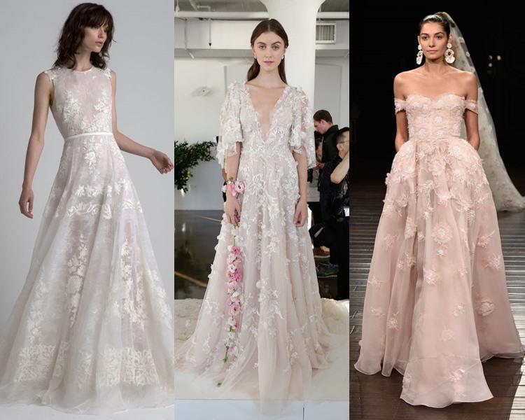 Тренды свадебных платьев: что надеть невесте этим летом