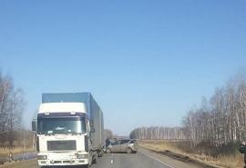 В Омской области пассажир «Мерседеса» насмерть разбился об фуру