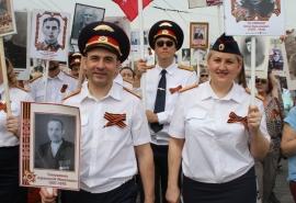 Омские следователи прошли в рядах «Бессмертного полка»