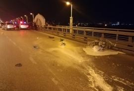 Жуткое ДТП в Омске: 19-летний водитель «Лексуса» насмерть сбил дорожного рабочего