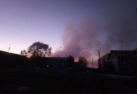 После пожара на Кировской свалке омичи пожаловались на удушающий запах в городе