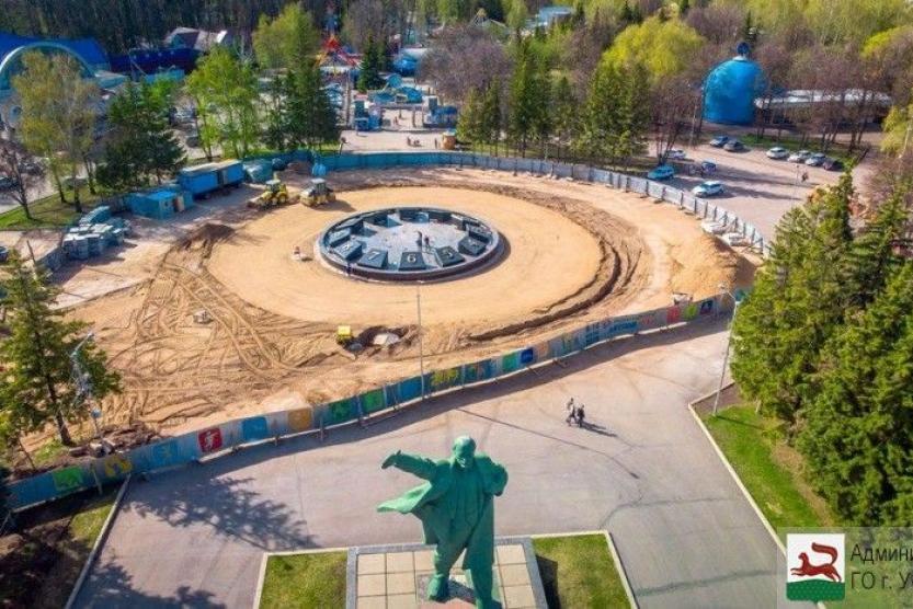 В Уфе скоро состоится запуск часов-фонтана