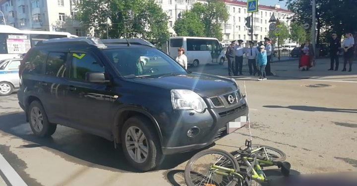 В Уфе внедорожник насмерть сбил 9-летнего ребенка на велосипеде