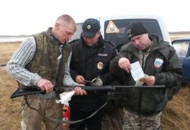 В весеннюю охоту омичи настреляли на пять уголовных дел