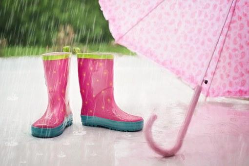 В Башкирию пришло похолодание, грозы и дожди
