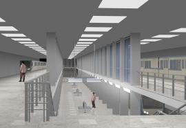 Стройплощадку одной из станций омского метро полностью демонтируют к середине июля