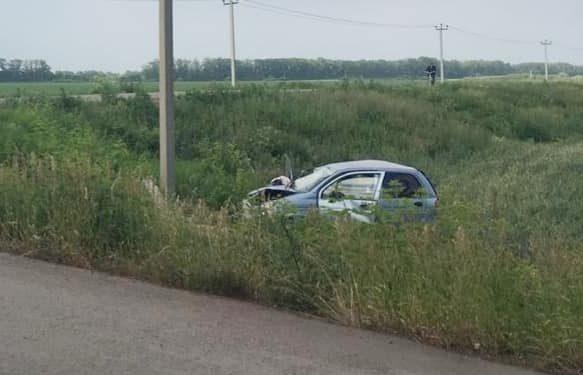 В Башкирии автоледи на малолитражке насмерть разбилась в ДТП