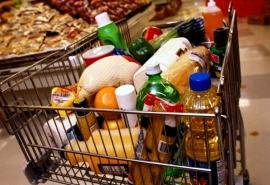 В Омске подорожал минимальный набор продуктов питания