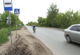 Омичи заподозрили ремонт улицы Герцена подержанным асфальтом