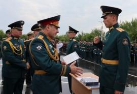 Замминистра обороны РФ открыл в Омске памятник танкисту