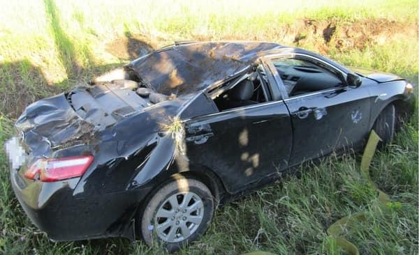 В Башкирии перевернулась «Toyota Camry», погиб пассажир