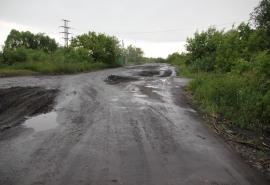 В Исилькульском районе разбили объездную дорогу
