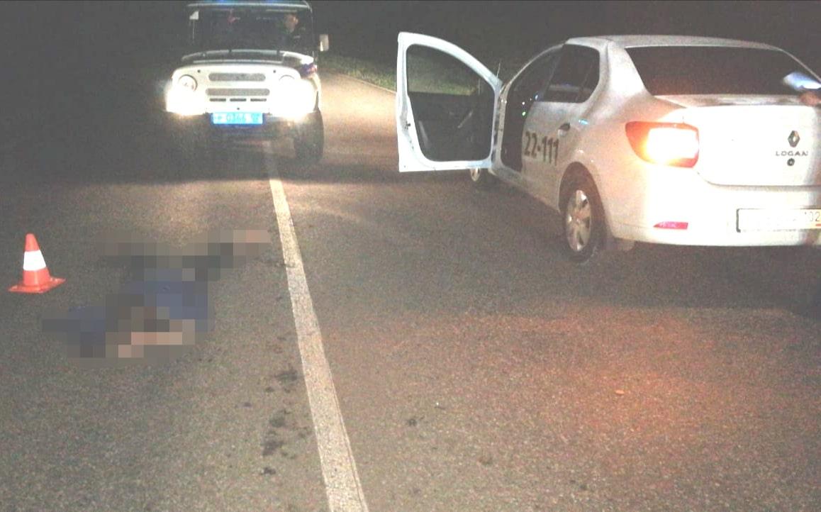 В Башкирии ночью иномарка насмерть сбила женщину