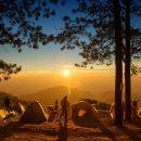 В Хабаровском крае сгорел палаточный лагерь