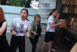 Омские депутаты помогли пострадавшим при наводнении в Иркутской области
