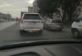 Омских водителей предупредили о сложностях проезда по улице Масленникова