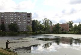 Как в Омске по нацпроекту благоустраивают территорию у озера Кирпичка