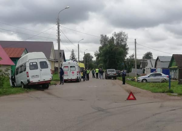 В Башкирии в ДТП с автобусом пострадали три пассажира