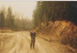 Омич, разыскиваемый из-за убийства 7-летнего пасынка, может прятаться в большереченских лесах