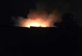 В Омске на пепелище частного дома нашли два обгоревших тела