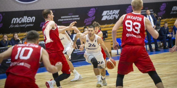 БК «Уфимец» пробился в 1/8 Кубка России по баскетболу