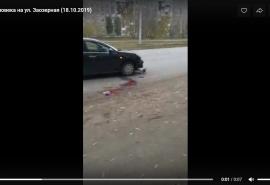 В Омске сбили неизвестного мужчину, попытавшегося перейти дорогу в неположенном месте – ГИБДД