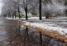 Омичей ждут несколько дней снега и дождя