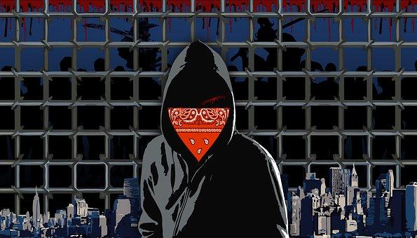 В Башкирии ночью хулиган изрезал ножом парня и девушку