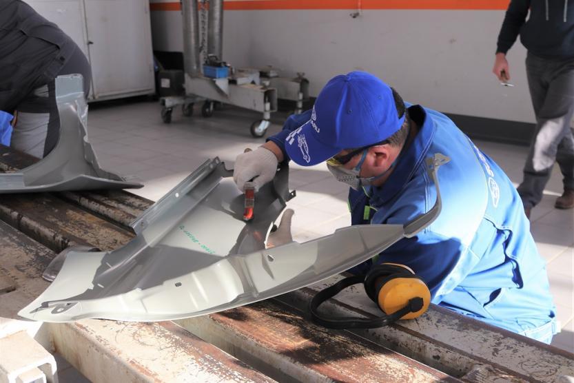 В Уфе назван лучший специалист по кузовному ремонту автомобилей