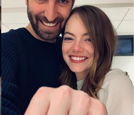 Эмма Стоун выходит замуж за Дэйва МакКери