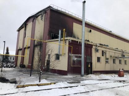 В Уфе по факту пожара в железнодорожном депо возбудили дело
