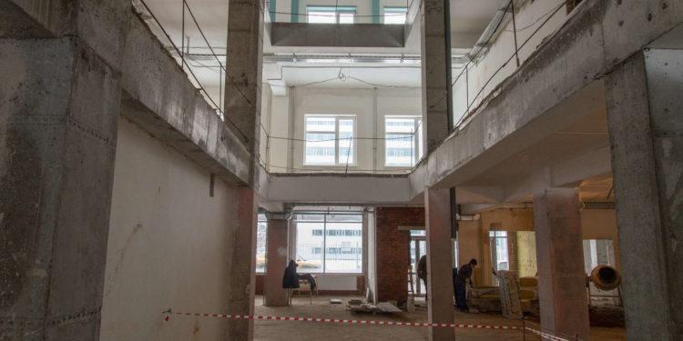 В Уфе ведется строительство пристроя к республиканскому онкодиспансеру