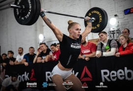 Красавица-омичка выиграла Кубок России по тяжелой атлетике в весе до 76 кг