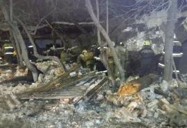 В Омске закончили разбор руин складов Минобороны: последние данные