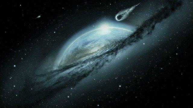 Ученые увидели мощнейший взрыв в далекой галактике
