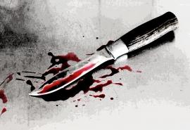Омичка отбила благоверному почки и вонзила нож в спину