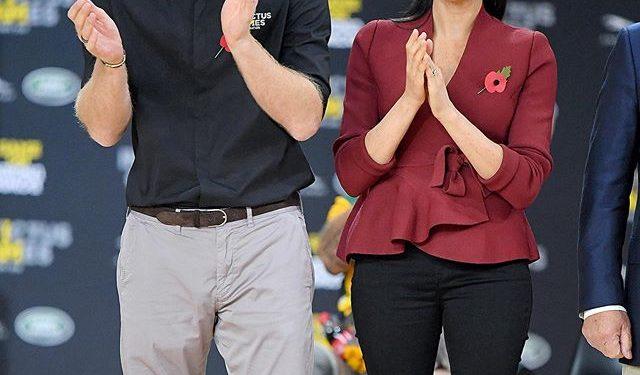 Принц Гарри и Меган Маркл впервые прибыли в Лондон после «мегзита»