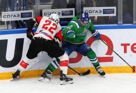 Омский «Авангард» провалил пятый матч в серии с «Салаватом Юлаевым»