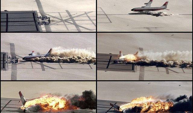 """На съемках """"Довода"""" настоящий самолет врезался в здание"""