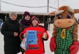В Омском районе прошел ежегодный турнир по хоккею памяти Владимира Кабернюка