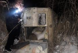 В Новосибирской области перевернулся «УАЗ» с омскими номерами: есть погибшие