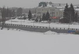 Сибирь и Омск охватит мощнейший снежный циклон