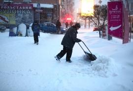 В Омск придет мощный циклон с потеплением и снегопадом