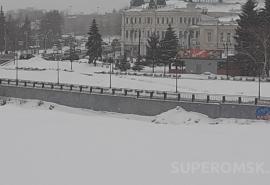 К Омску приближается мощный циклон с потеплением