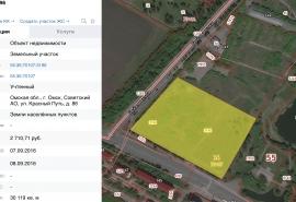 Для территории омского дендросада просят сменить зону разрешенного использования