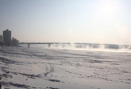 После шторма в Омске станет холоднее, чем в резиденции Санта-Клауса