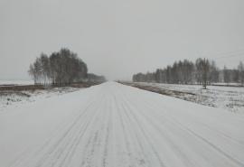 Разрешено движение автобусов по федеральной трассе в Сибири