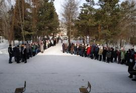 В Омской школе прошла эвакуация детей