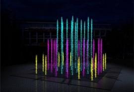 Жителям города в Омской области анонсировали разноцветный фонтан